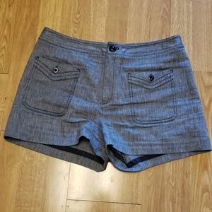 ANTHRO Cartonnier high rise shorts sz 8